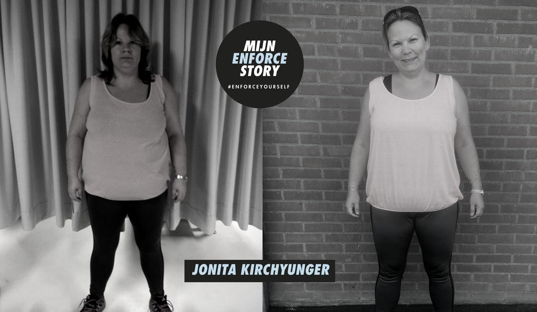 De Enforce Story van Jonita Kirchyunger: ik ging steeds beter om met de situaties waarin stress een grote rol speelden