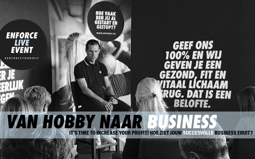 Wil jij van je personal trainer hobby een serieuze personal trainer business maken?
