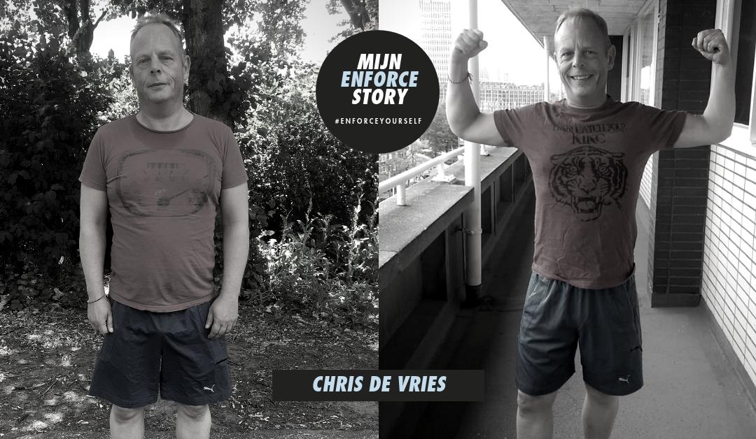 De Enforce Story van Chris de Vries: een betere balans tussen fysiek en geest draagt bij aan succes