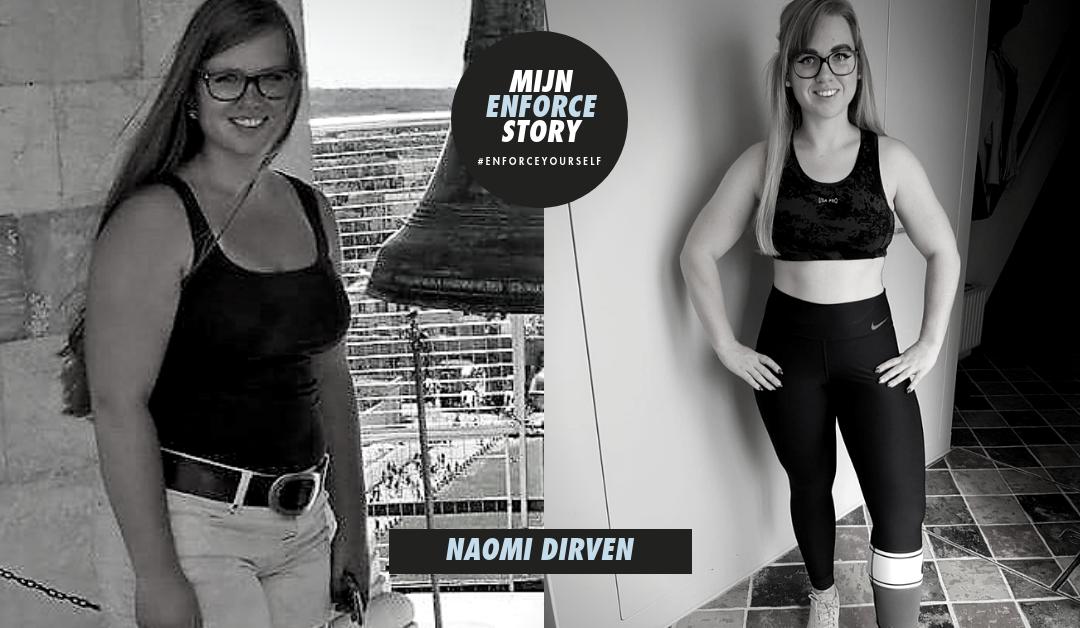 De Enforce Story van Naomi Dirven: ik ben mezelf anders gaan zien in de spiegel