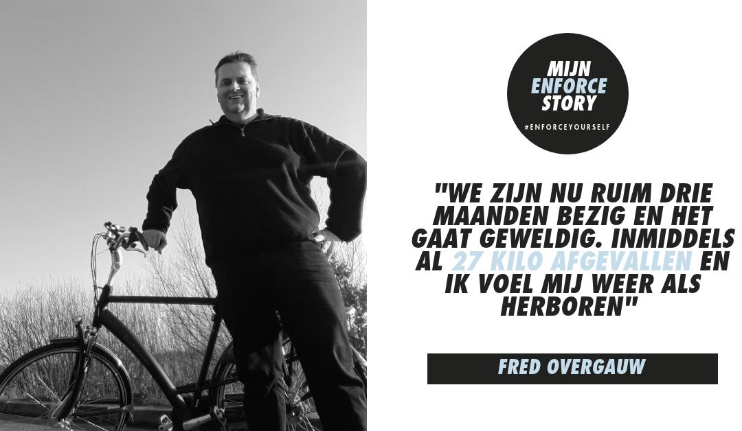 """De Enforce story van Fred Overgauw: """"Opgeven, dat nooit!"""""""