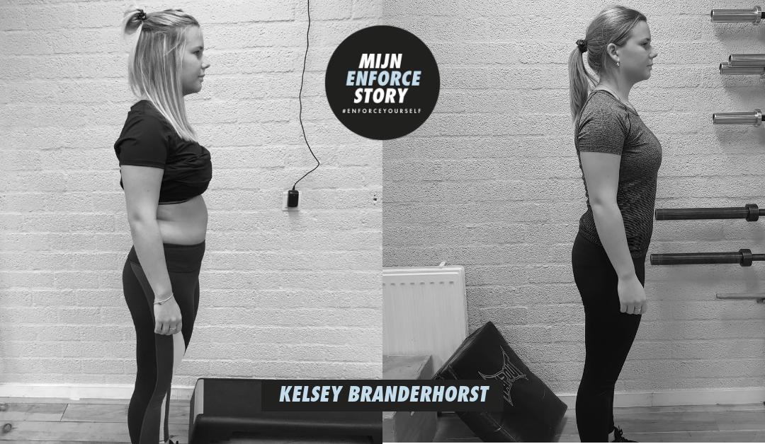 """De Enforce Storie van Kelsey Branderhorst: """"Ik voel me sterker dan ik ooit ben geweest"""""""