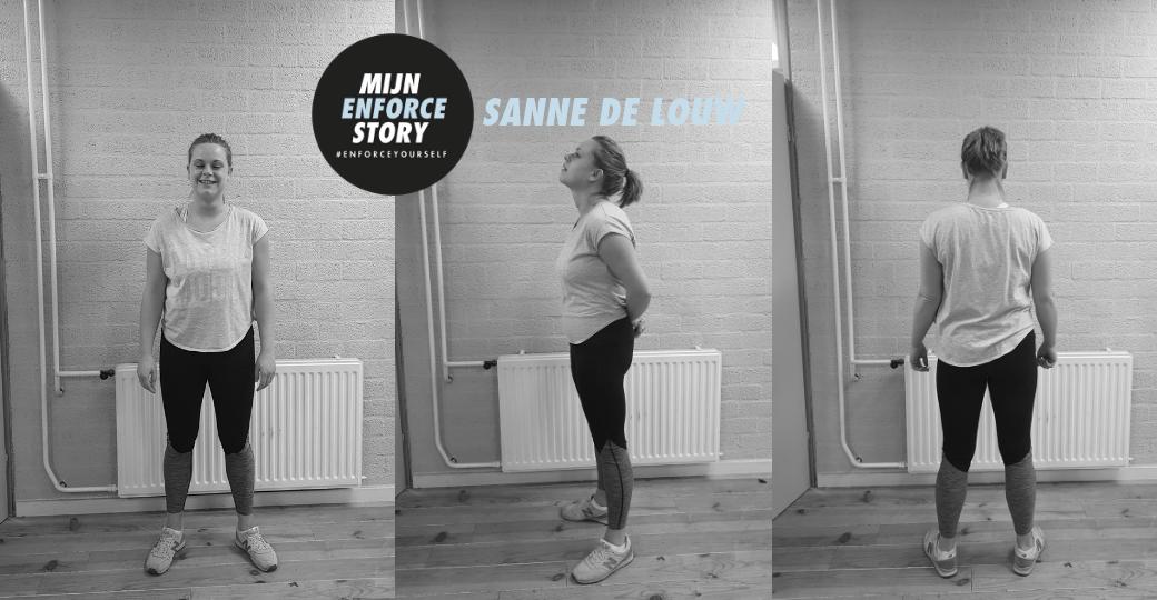 """De Enforce story van Sanne de Louw: """"Ik hopte van de ene sportschool naar de andere"""""""