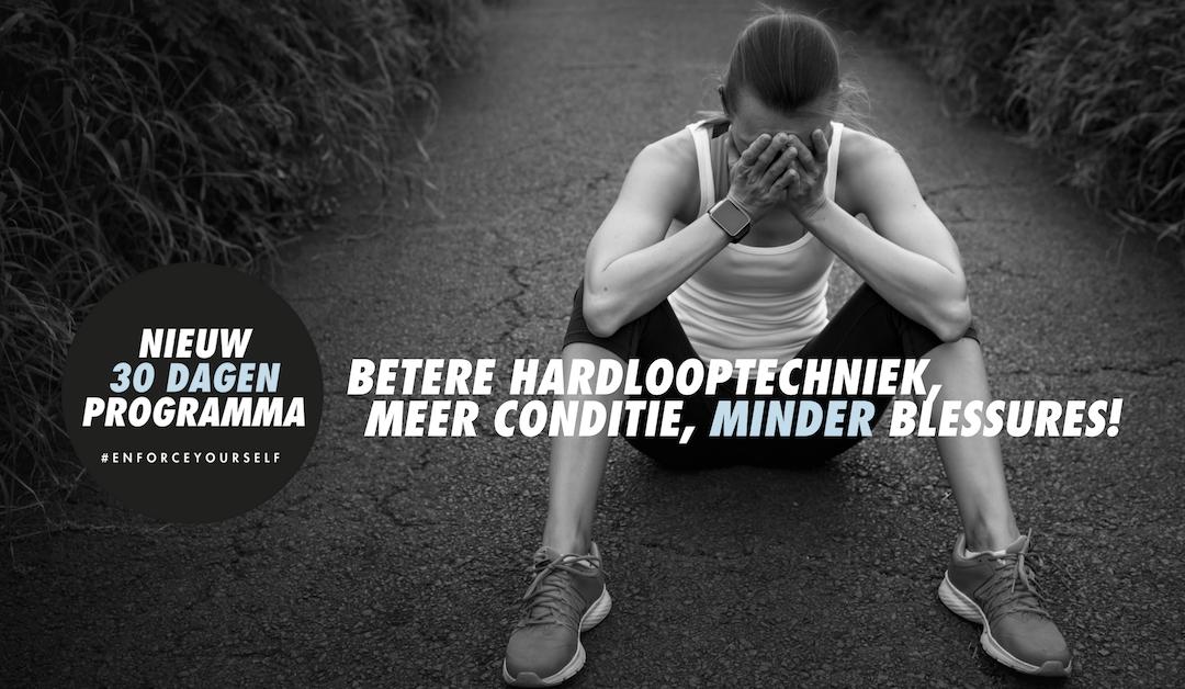 Hardlopen, betere conditie, meer techniek en minder blessures in 30 dagen?