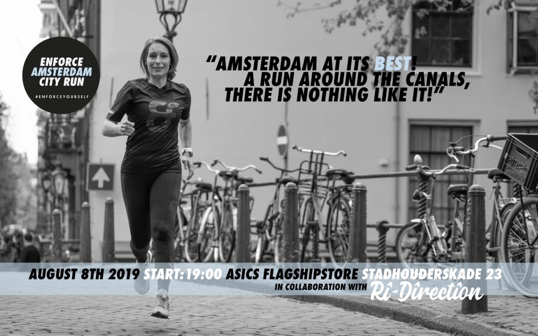 Sign up for free for the Enforce Amsterdam City Run