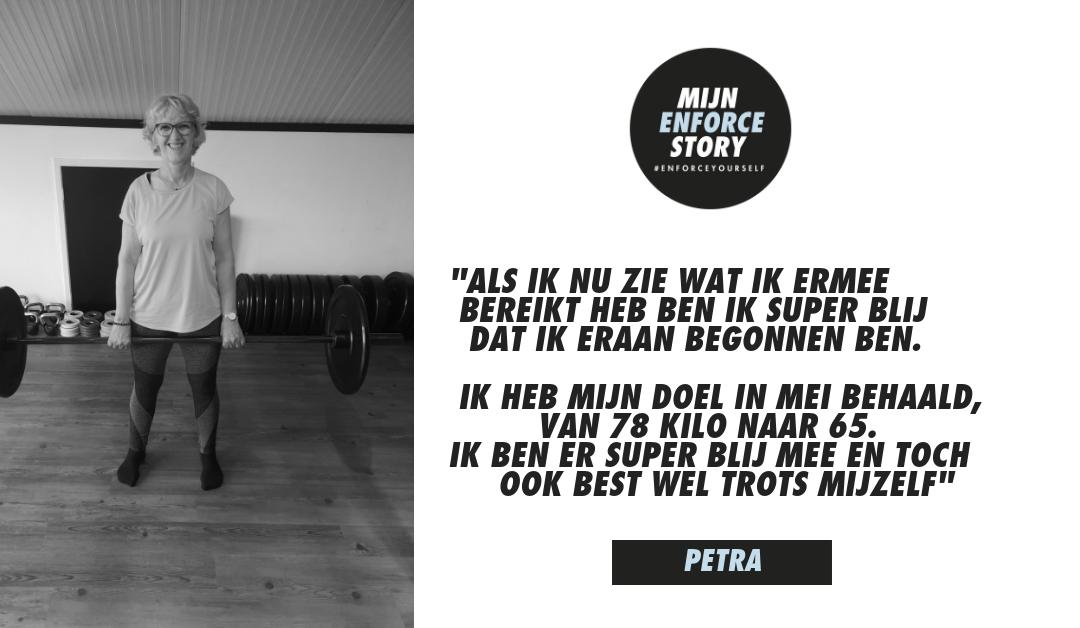"""De Enforce story van Petra Nummerdor: """"Als ik nu zie wat ik ermee bereikt hebt ben ik super blij"""""""