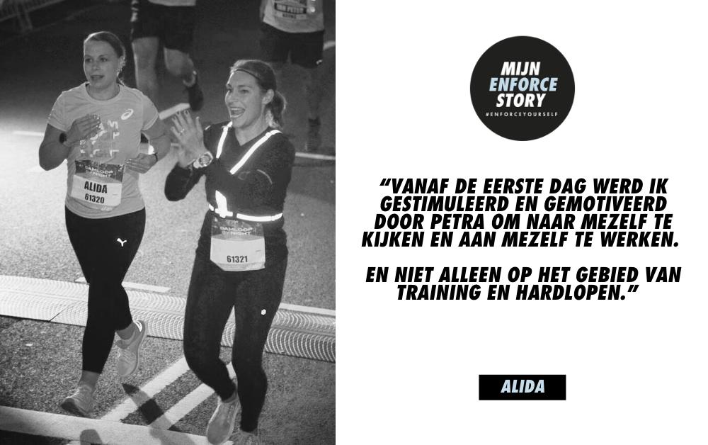 """De Enforce story van Alida de Zwaan: """"lifechanger in plaats van een trainingsprogramma"""""""