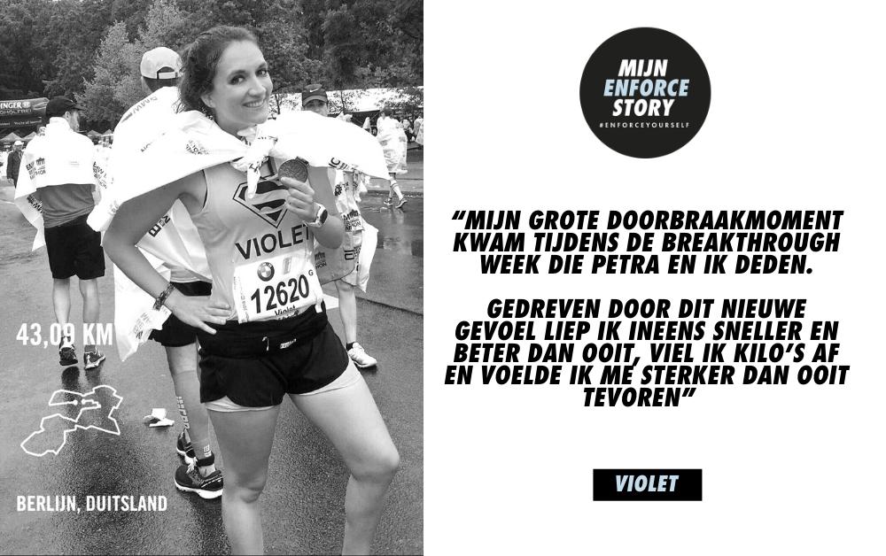 """De Enforce story van Violet Annaert: """"Toen ik bij Petra aanklopte, was ik een schim van mezelf"""""""