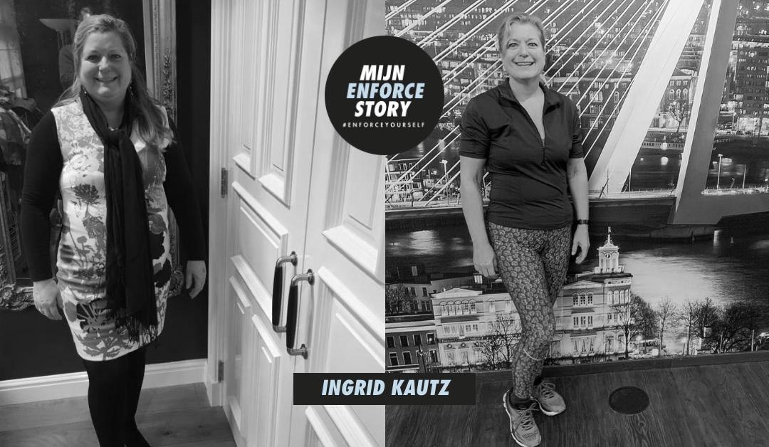 """De Enforce story van Ingrid Kautz: """"Bootcamp, ik draai er mijn hand niet meer voor om"""""""