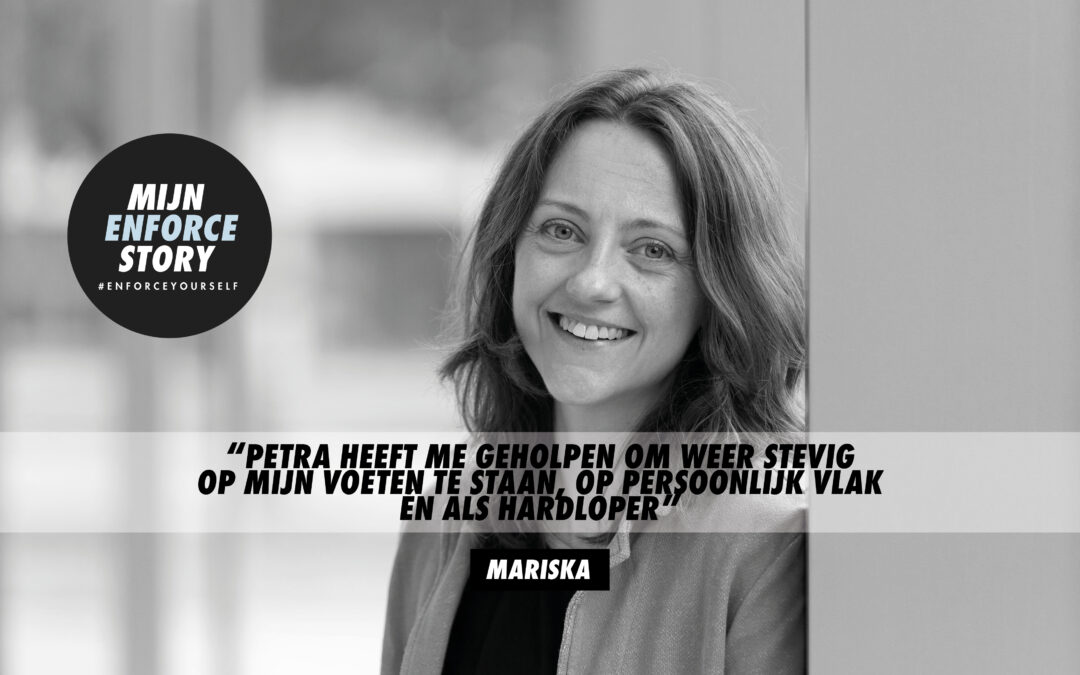 De Enforce storie van Mariska de Haan: Waarom ben je steeds bezig met allerlei randzaken?