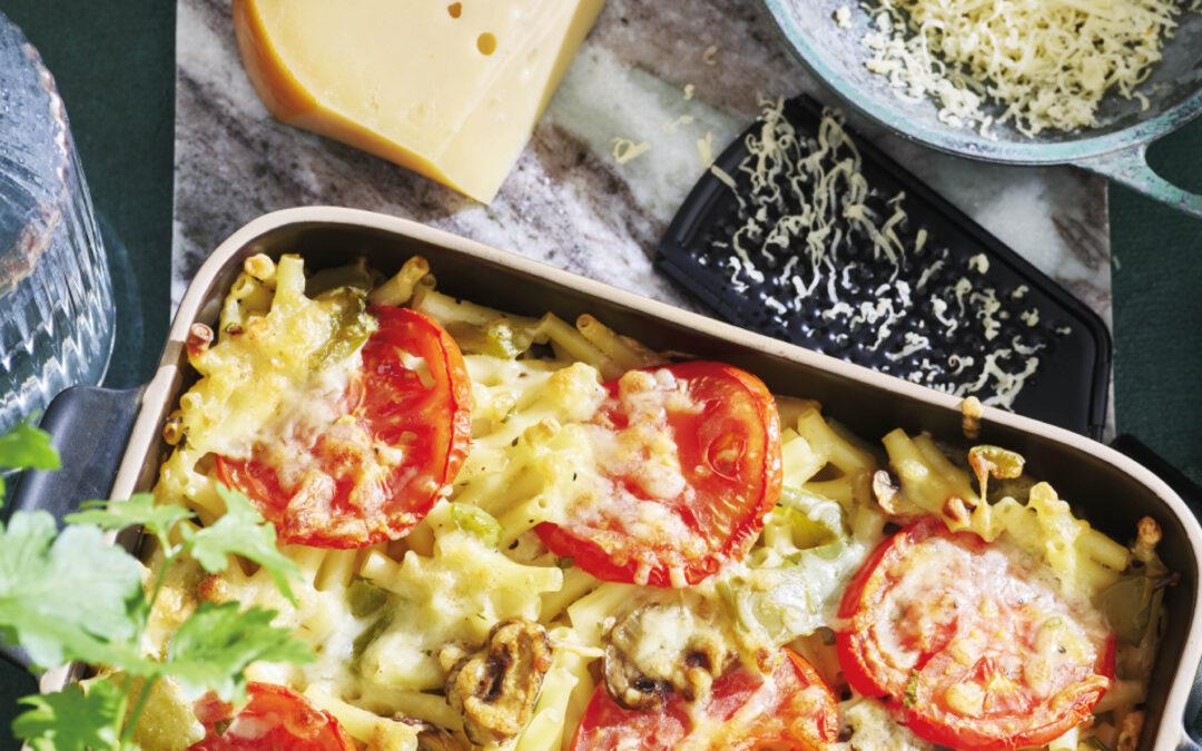Vegetarische macaronischotel