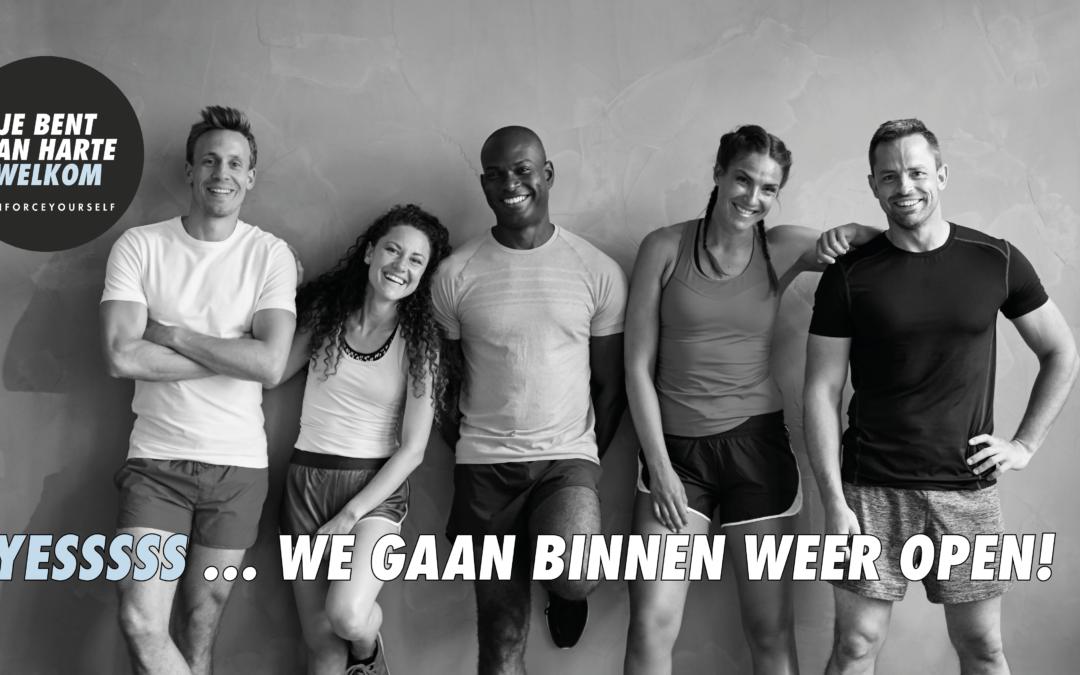 Back 2 the Gym met Jeroen Blijlevens en Michael Boogerd in Enforce Hoogstraten